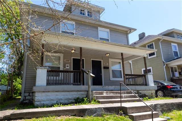 1105-1107 N Keystone Avenue, Indianapolis, IN 46201 (MLS #21711221) :: The Indy Property Source