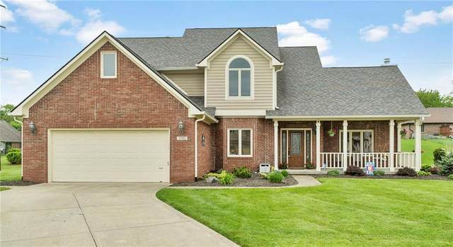 7082 Hunters Ridge Drive, Plainfield, IN 46168 (MLS #21711288) :: The Indy Property Source