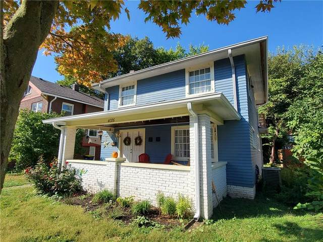 4026 Ruckle Street, Indianapolis, IN 46205 (MLS #21711305) :: AR/haus Group Realty