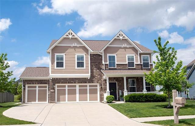 16764 Cavallina Lane, Westfield, IN 46074 (MLS #21711319) :: The Indy Property Source