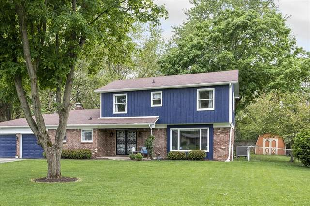 11408 Central Drive W, Carmel, IN 46032 (MLS #21711348) :: David Brenton's Team