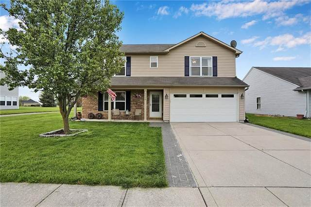 3524 Limelight Lane, Whitestown, IN 46075 (MLS #21711428) :: The Indy Property Source