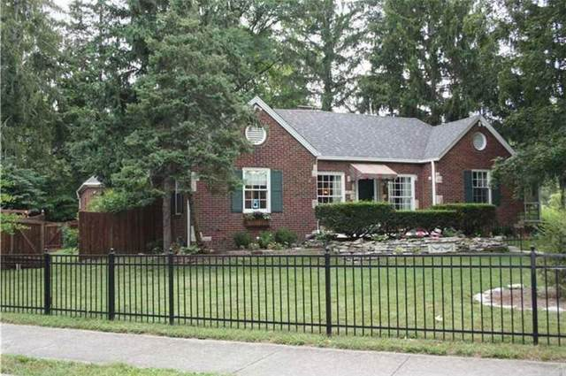 6108 N Delaware Street, Indianapolis, IN 46220 (MLS #21711457) :: The Indy Property Source