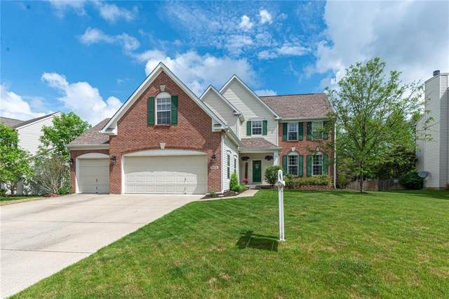 9950 Niagara Drive, Fishers, IN 46037 (MLS #21711473) :: The Evelo Team