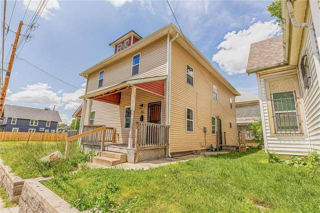128 W 32nd Street, Indianapolis, IN 46208 (MLS #21711477) :: The Evelo Team