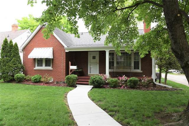 1922 California Street, Columbus, IN 47201 (MLS #21711496) :: The Indy Property Source