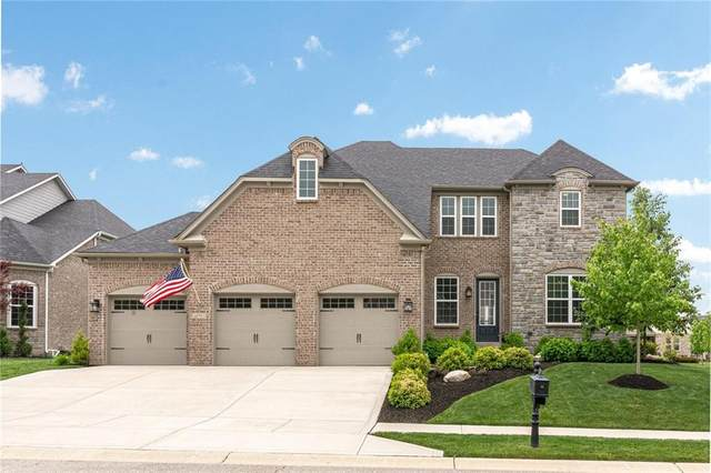 14910 Briarpatch Circle, Carmel, IN 46033 (MLS #21711612) :: AR/haus Group Realty