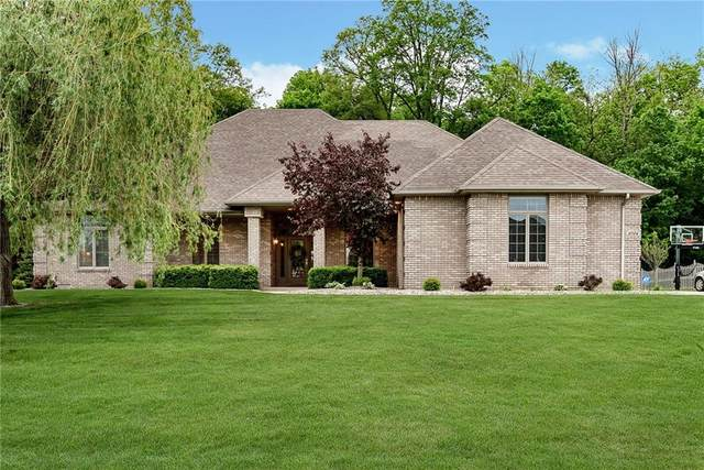 3704 Larkwood Road, Anderson, IN 46012 (MLS #21711615) :: The Evelo Team