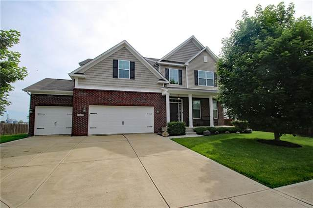 8447 Lockerbie Drive, Brownsburg, IN 46112 (MLS #21711631) :: The Evelo Team
