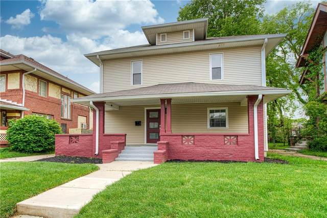 3350 Ruckle Street, Indianapolis, IN 46205 (MLS #21711688) :: The Indy Property Source