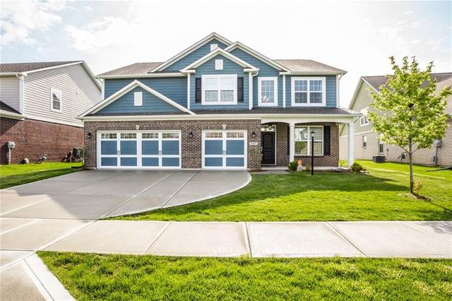 7407 Doyal Drive, Whitestown, IN 46075 (MLS #21711701) :: Your Journey Team
