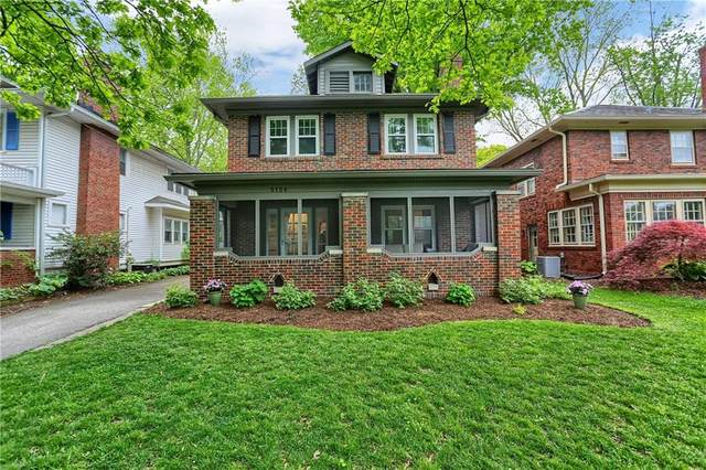 5136 N Kenwood Avenue, Indianapolis, IN 46208 (MLS #21711704) :: The Indy Property Source