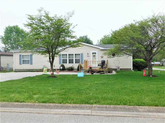 321 W Lou Lane, Greensburg, IN 47240 (MLS #21711756) :: The Indy Property Source