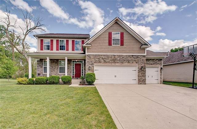 615 Beechwood Centre Road, Avon, IN 46123 (MLS #21711761) :: The Indy Property Source