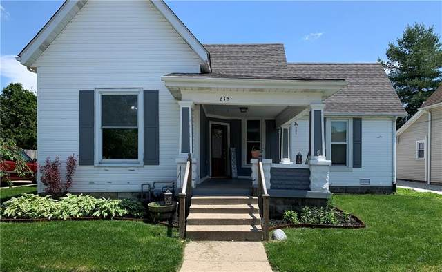 615 N East Street, Greenfield, IN 46140 (MLS #21711776) :: Heard Real Estate Team | eXp Realty, LLC