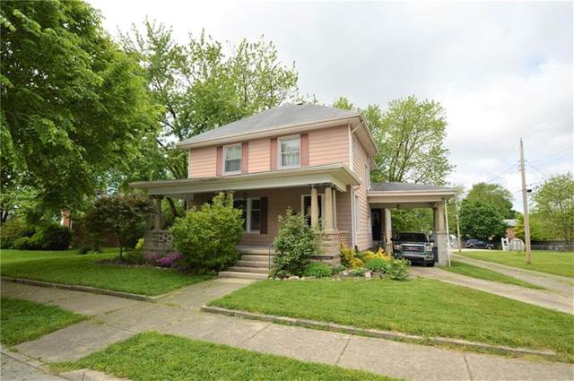 130 N Swope Street, Greenfield, IN 46140 (MLS #21711784) :: The Indy Property Source