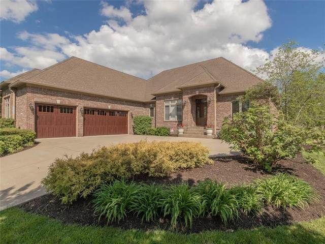 10858 Harbor Bay Drive, Fishers, IN 46040 (MLS #21711842) :: The Indy Property Source