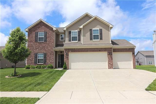 2376 Ashton Lane, Greenwood, IN 46143 (MLS #21711866) :: David Brenton's Team