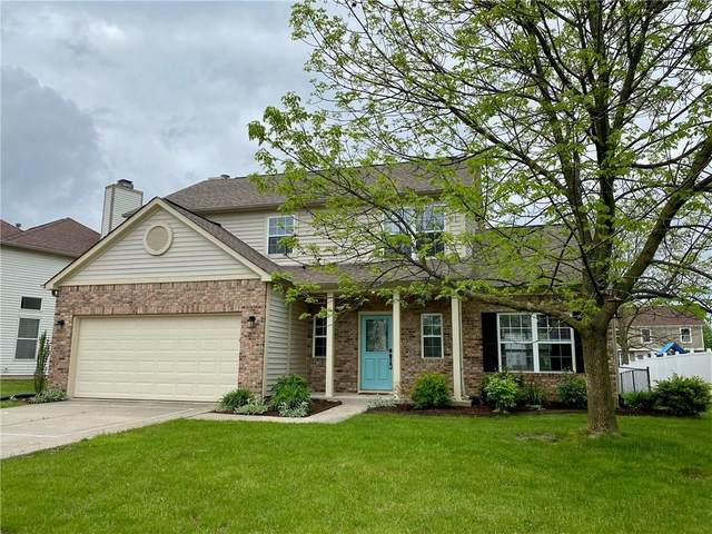 413 Autunm Springs Drive, Avon, IN 46123 (MLS #21711893) :: The Evelo Team