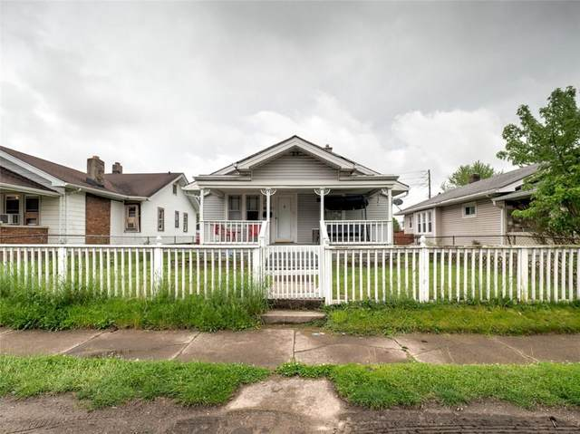 1821 E Minnesota Street, Indianapolis, IN 46203 (MLS #21711927) :: The Indy Property Source