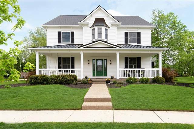 6595 Westminster Drive, Zionsville, IN 46077 (MLS #21711955) :: The Evelo Team