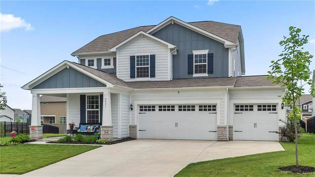 4431 Garrison Circle, Westfield, IN 46062 (MLS #21711960) :: The Indy Property Source