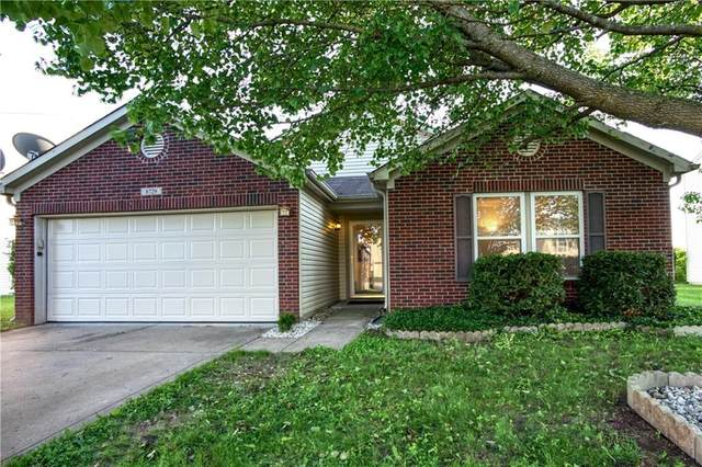 8729 Blooming Grove Drive, Camby, IN 46113 (MLS #21712012) :: David Brenton's Team