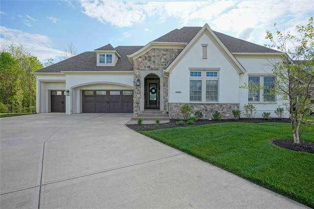 12156 Ams Run, Carmel, IN 46032 (MLS #21712013) :: Richwine Elite Group