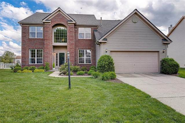 12645 Tealwood Drive, Indianapolis, IN 46236 (MLS #21712019) :: The Evelo Team