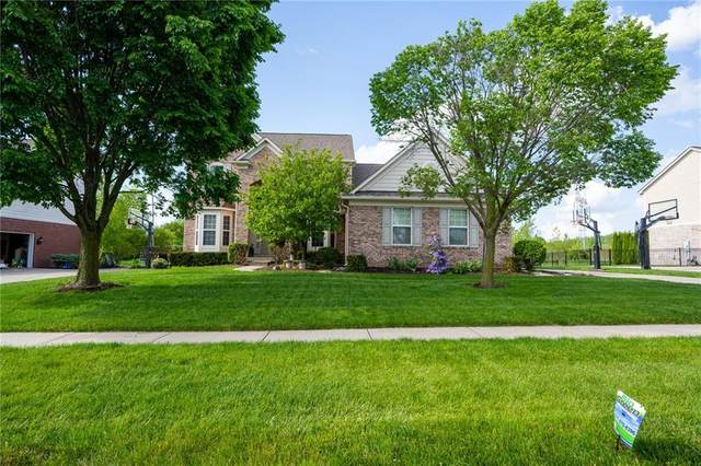 9256 Windrift Way, Zionsville, IN 46077 (MLS #21712038) :: The Indy Property Source