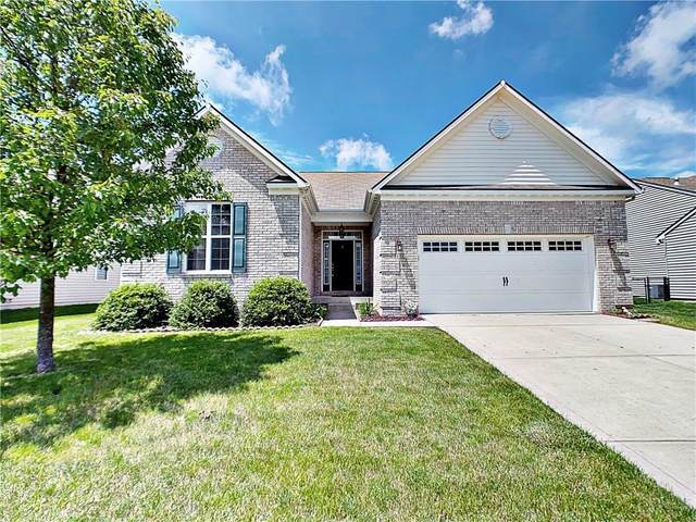 1478 Tuscany Drive, Greenwood, IN 46143 (MLS #21712072) :: David Brenton's Team