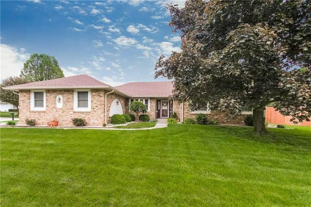 5201 Sandstone Court, Indianapolis, IN 46237 (MLS #21712082) :: The Evelo Team