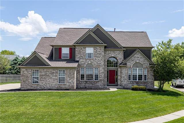 11681 Tasman Circle, Fishers, IN 46038 (MLS #21712088) :: Mike Price Realty Team - RE/MAX Centerstone
