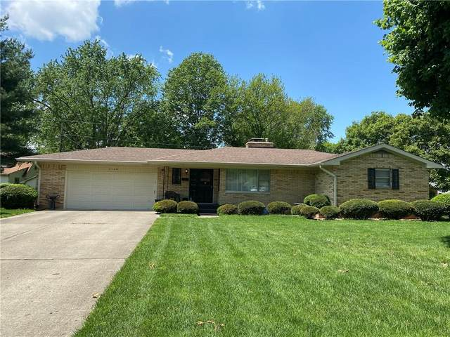 7136 Linden Drive, Indianapolis, IN 46227 (MLS #21712111) :: The Indy Property Source