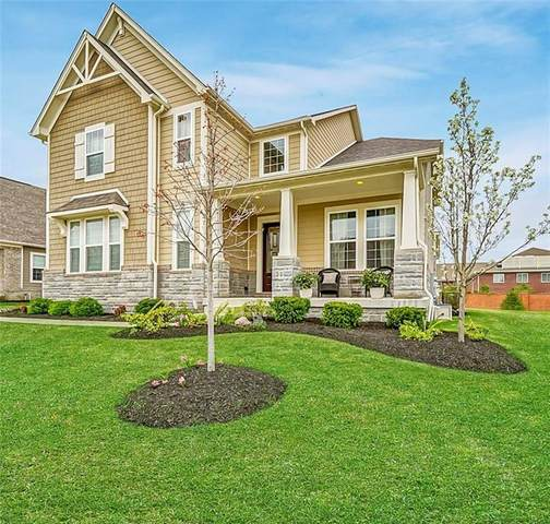14916 Harbour Ridge Circle, Carmel, IN 46033 (MLS #21712124) :: The Indy Property Source