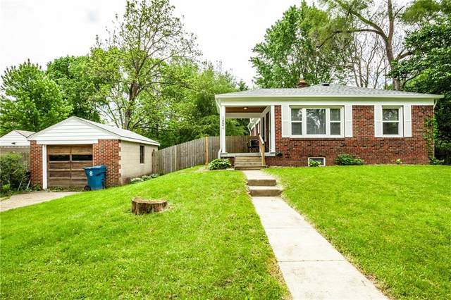 1821 E 68th Street, Indianapolis, IN 46220 (MLS #21712172) :: AR/haus Group Realty