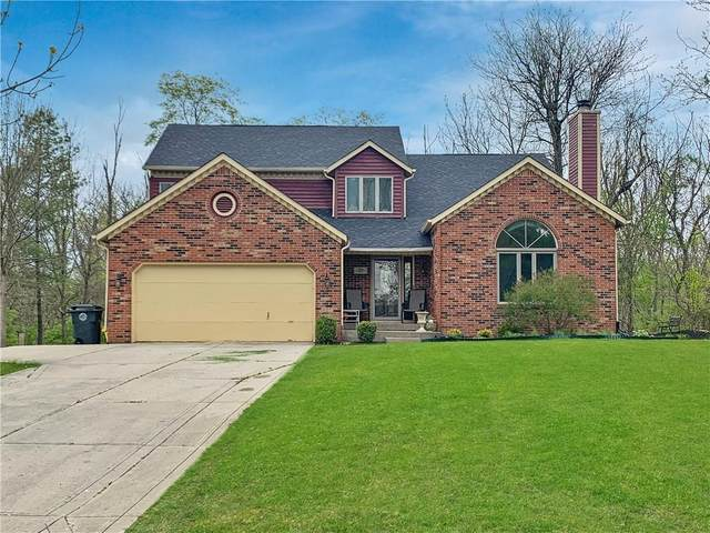 7821 Geist Bluff Drive, Indianapolis, IN 46236 (MLS #21712175) :: The Indy Property Source