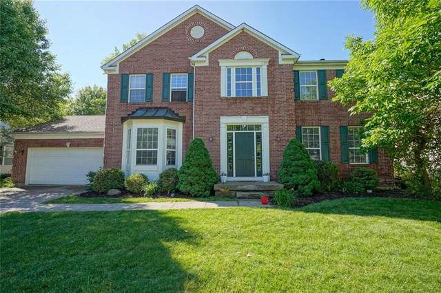 8845 Providence Drive, Fishers, IN 46038 (MLS #21712185) :: The Indy Property Source