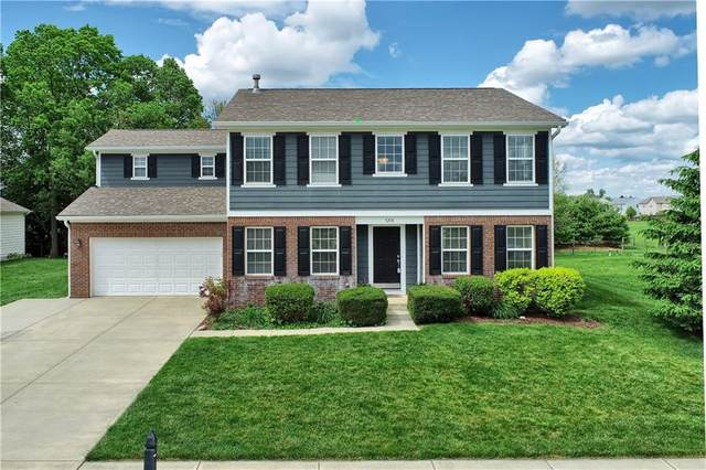3218 Winings Lane, Carmel, IN 46074 (MLS #21712259) :: The Indy Property Source