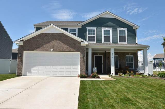 2056 Woodland Parks Drive, Columbus, IN 47201 (MLS #21712290) :: The Indy Property Source