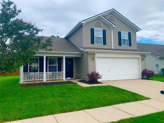 8326 Bluestem Drive, Plainfield, IN 46168 (MLS #21712323) :: The Evelo Team
