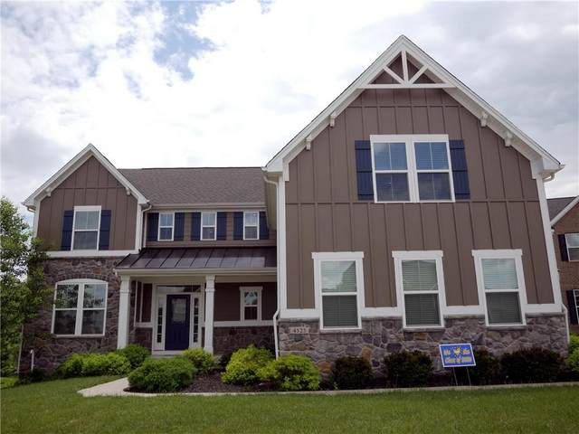 4525 Golden Eagle Court, Zionsville, IN 46077 (MLS #21712374) :: The Indy Property Source