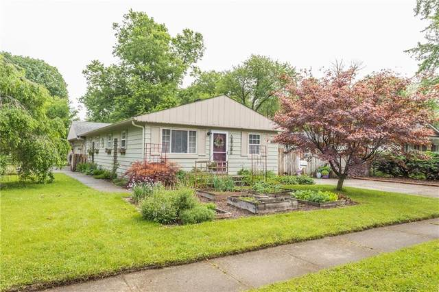 3034 Roberta Drive, Indianapolis, IN 46222 (MLS #21712392) :: The Indy Property Source