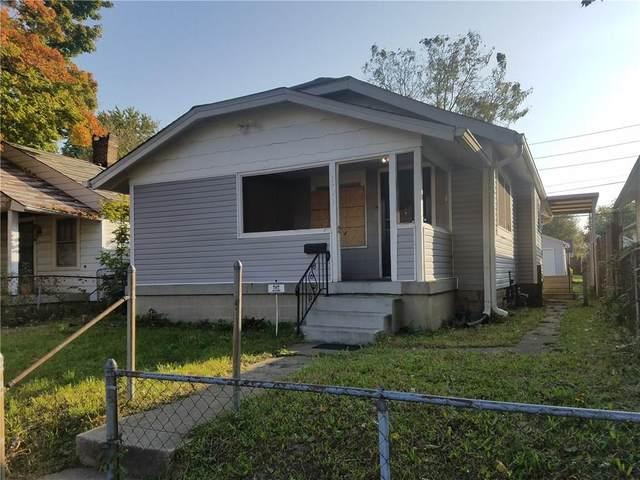 1741 Thaddeus Street, Indianapolis, IN 46203 (MLS #21712429) :: Heard Real Estate Team | eXp Realty, LLC