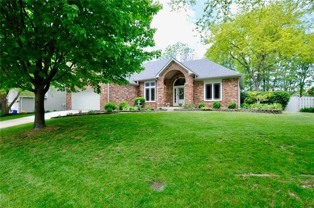 6750 Princess Lane, Avon, IN 46123 (MLS #21712438) :: The Evelo Team