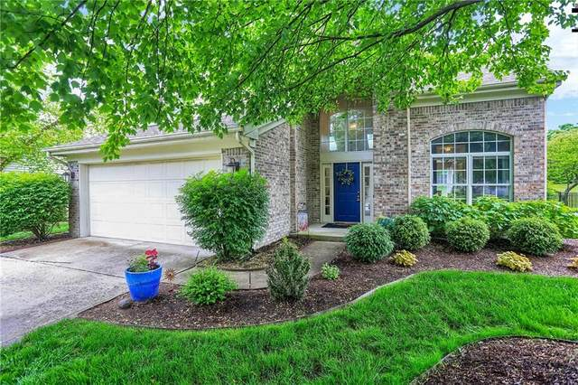 10380 Lakeland Drive, Fishers, IN 46037 (MLS #21712456) :: The Evelo Team