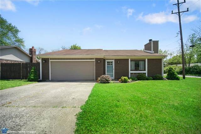 1209 Woodcreek Drive, Greenwood, IN 46142 (MLS #21712504) :: David Brenton's Team