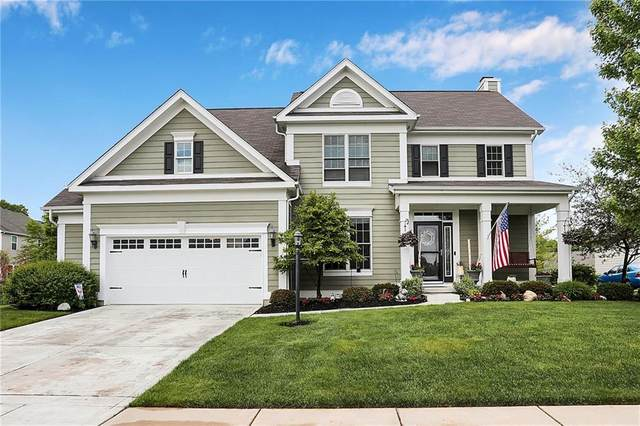 12256 Westmorland Drive, Fishers, IN 46037 (MLS #21712525) :: AR/haus Group Realty