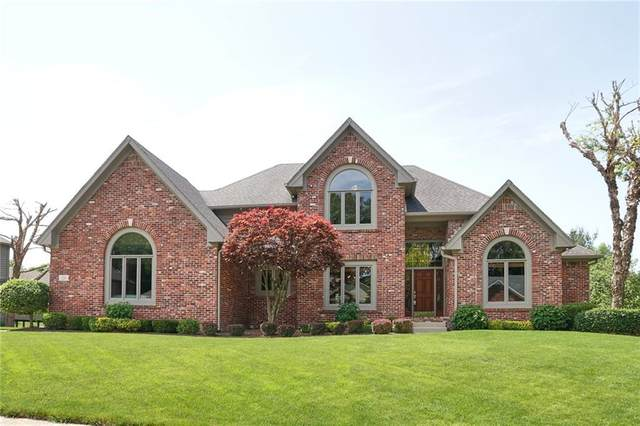 4609 Foxmoor Lane, Greenwood, IN 46143 (MLS #21714628) :: Anthony Robinson & AMR Real Estate Group LLC