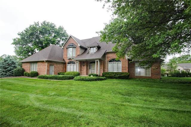 6284 Whitetail Run, Greenwood, IN 46143 (MLS #21714632) :: The Evelo Team